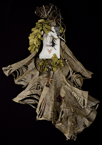 Monica Canilao, crocheted piece